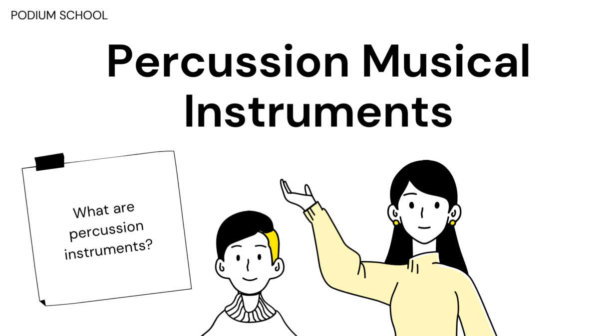 What are percussion instruments?